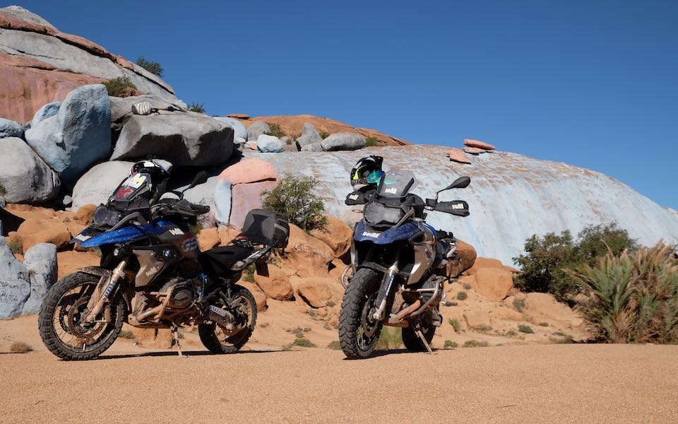 Morocco on-road and off-road motorcycle tours